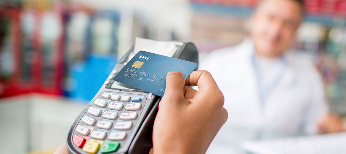 Credit or debit card transaction